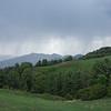 Rain approaching the summit of Makshpuri