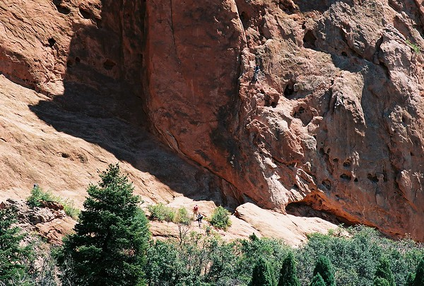 """<p class=""""imgcaptl"""">A Sense of Perspective:</p> <p class=""""imgcaptx"""">There are two hikers in the bottom center foreground.</p> <p class=""""imgcaptxa""""><span class=""""osnbrz"""">Garden of the Gods</span> -Colorado Springs, CO.</p> <p class=""""imgcapfn"""">4285520-R1-013-5 from Nikon 65 35mm film</p>"""