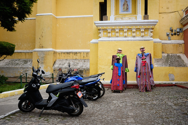 Iglesia La Merced, Antigua Guatemala