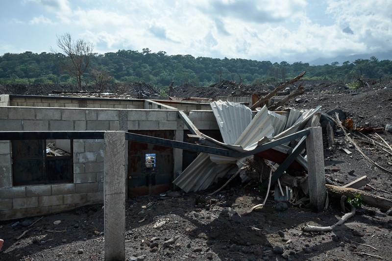 volcano rubble