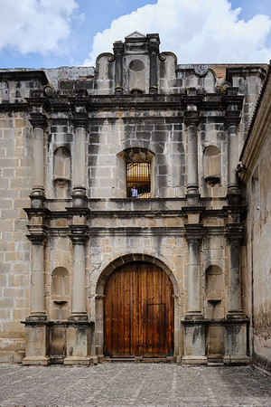 The Convento de Capuchinas in Antigua Guatemala