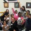 Girls' Leadership Institute - volunteers and girls, 2013
