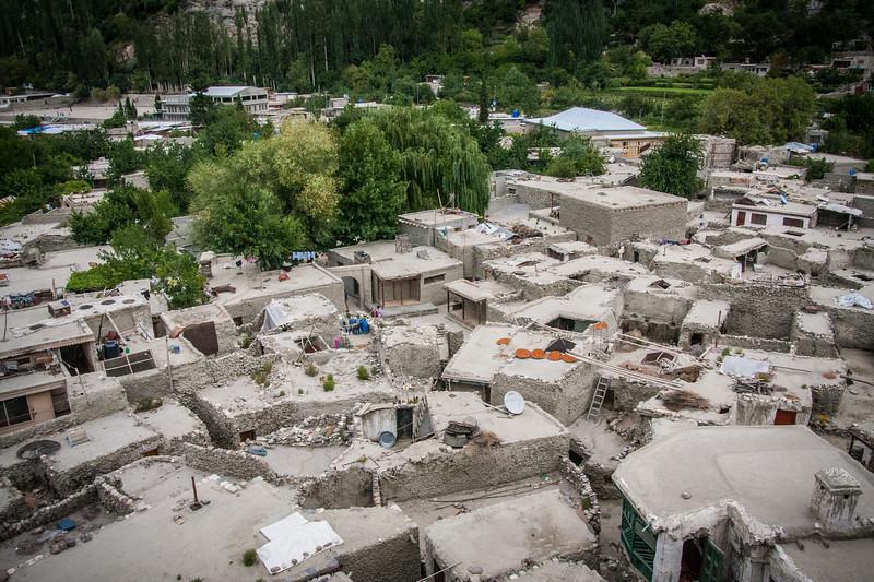 The old village of Altit, Hunza