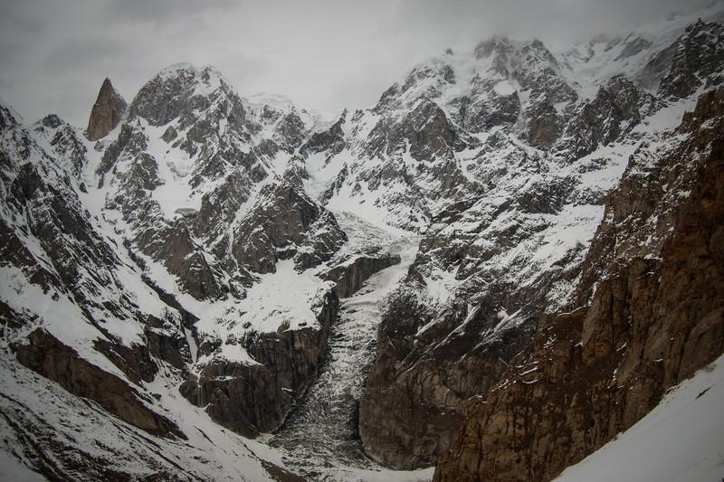 Lady Finger, Hunza Peak, and Ultar Peak