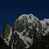 Lady Finger and Hunza Peak by moonlight, Hunza