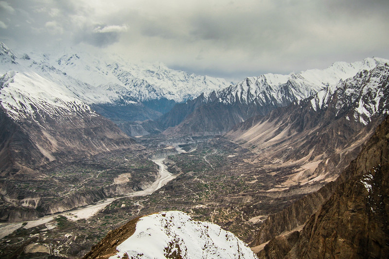 Hunza Valley in spring