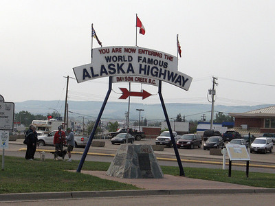 Dawson Creek, B.C. - Gateway to the Alaska Highway.