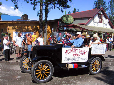 Centennial Parade, McCarthy, Alaska; July 4, 2006
