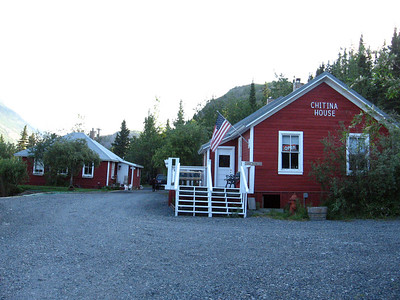 Chitina House B&B at the gateway to the McCarthy Road.