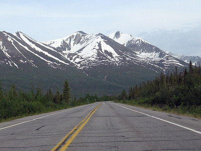 Near the Alaska-Canada border.