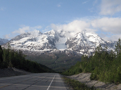 Mt. Billy Mitchell on the Richardson Highway to Valdez, AK.