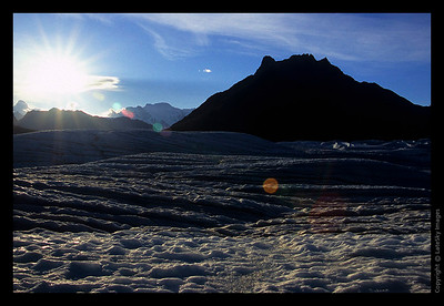 R06 Late Sun on Root Glacier