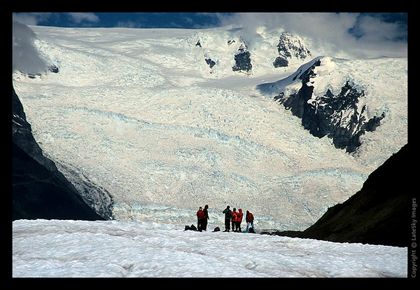 B18 Group Near Stairway Icefall