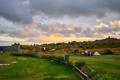 Dawn at the Ólafsvik campground