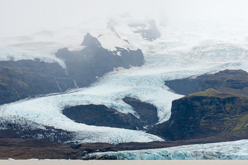 Fjallsjökul glacier & lagoon