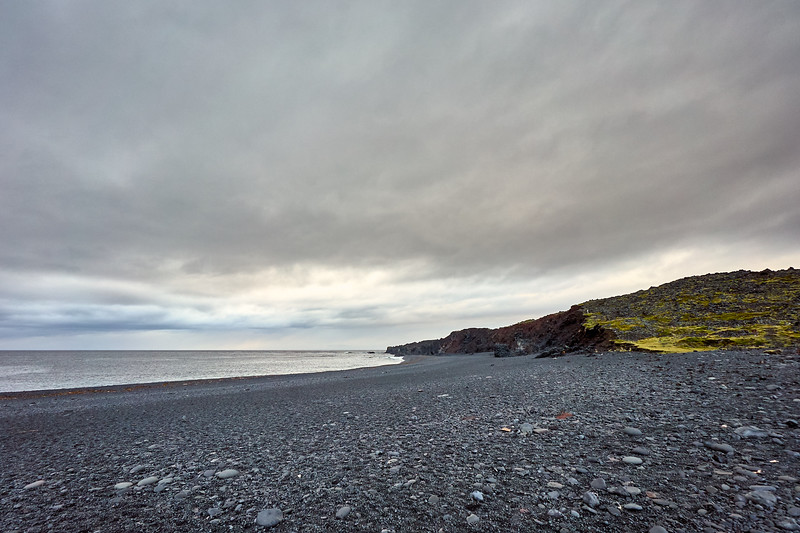 Djúpalónssandur, also known as Black Sand Beach, Snaefellsnes Peninsula