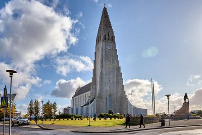 Hallgrimskirkja Church in Reykjavík, Iceland