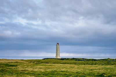 The lighthouse of Snaefellsjökull National Park