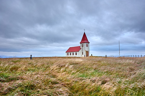 Arnarstapi Church on the Snaefellsnes Peninsula