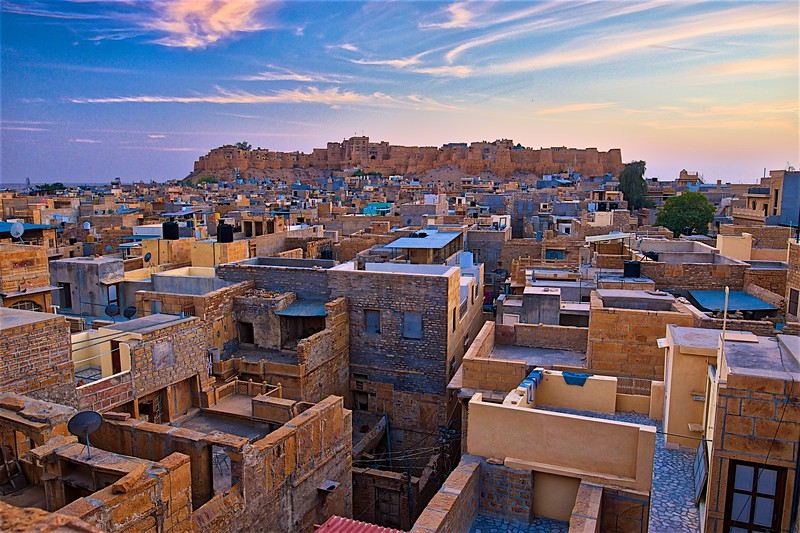 View over Jaisalmer