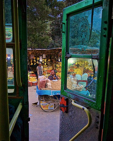 Bus Stop at the market