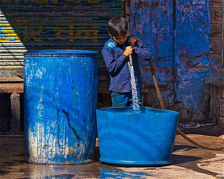 Filling buckets