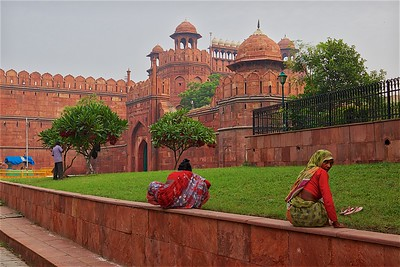 Around Red Fort