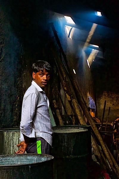 Inside Dhobi Ghat