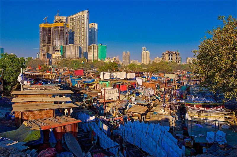 Dhobi Ghat view
