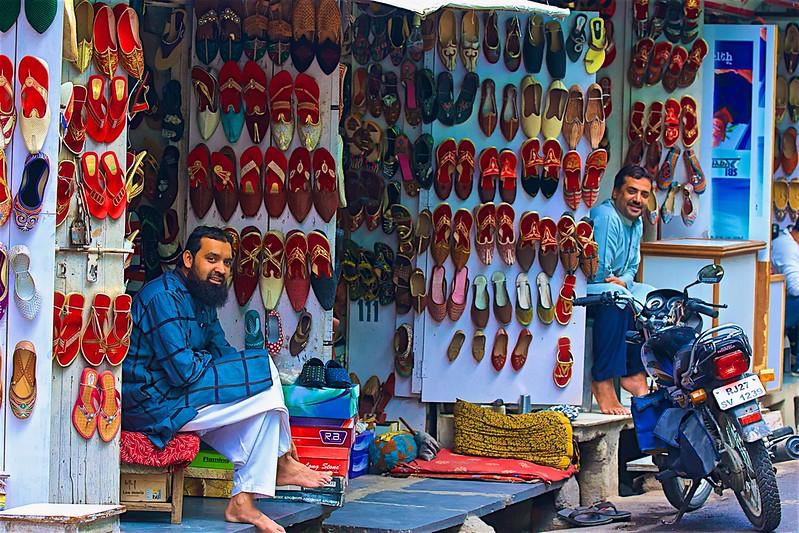 Shoe stalls