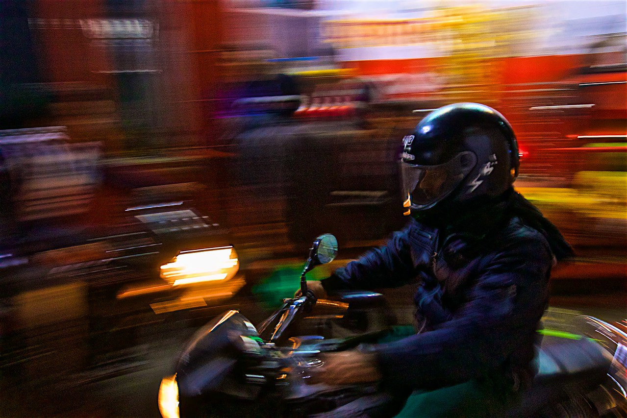 Speeding the narrow streets