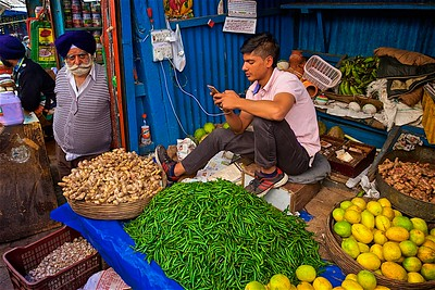 Shimla Street Market