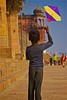 Kite on the Ghat