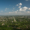 Islamabad on a clear day, from Damn-e-Koh