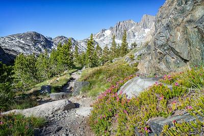 Trail to Garnet Lake