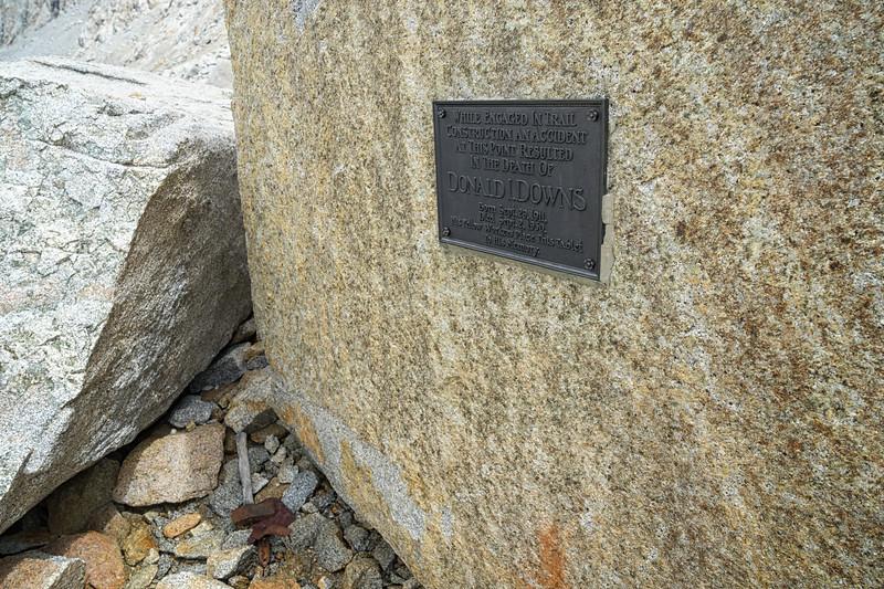 Donald Downs Memorial