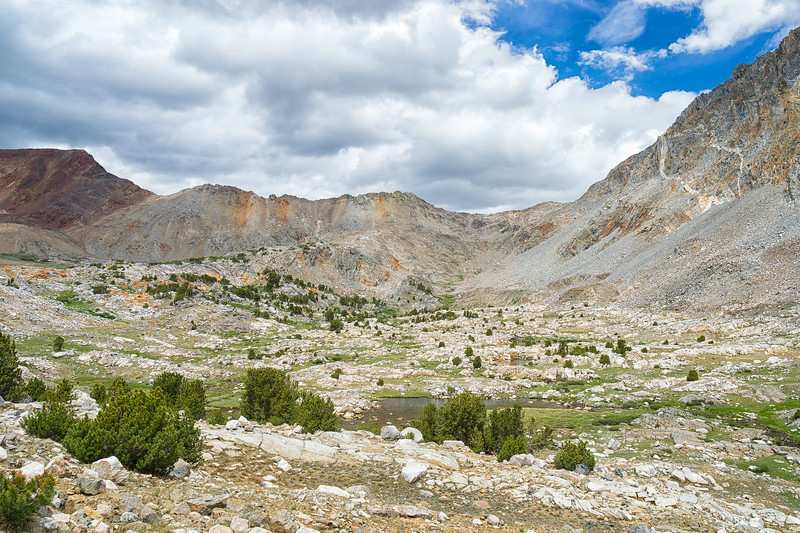 Down Pinchot Pass