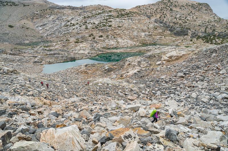 Up Glen Pass