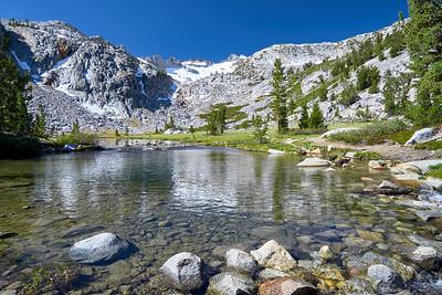 Mount Lyell's Lakes