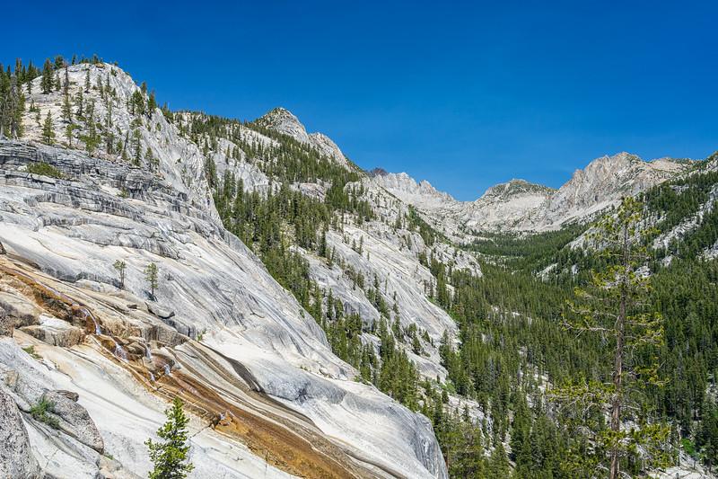 Silver Pass Creek Cascades