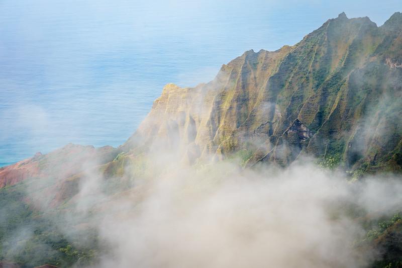 The Na Pali Coast from the Pu'u O Kila Lookout