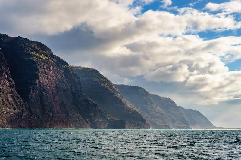 The Na Pali Coast, Kauai