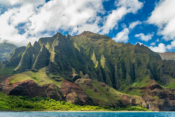 Cliffs of the Napali Coast