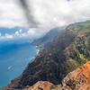 Helicopter tour of the Na Pali Coast, Kauai