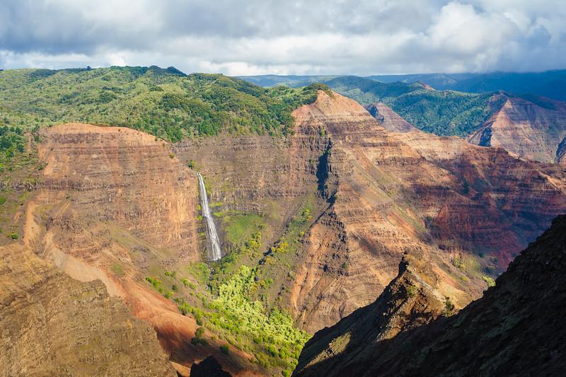 Waipo'o Falls, Waimea Canyon, Kauai