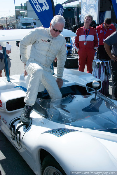 Jim Hall steps into the mighty Chaparral