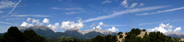 Panorama: A few 14000 footers... norm color