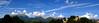 Panorama: A few 14000 footers... provia enhanced