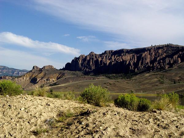DSC05037a Dillon Pinnacles and Blue Mesa Reservoir