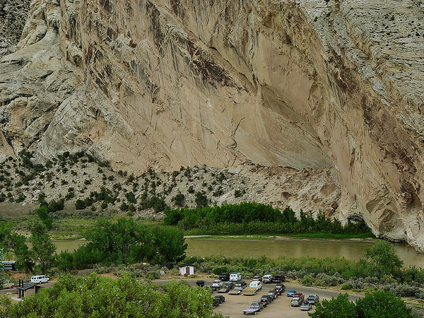 Green River, Near Dinosaur Colorado / Jensen UT